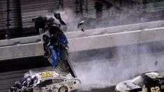 Conductor de NASCAR Ryan Newman fue dado de alta del hospital después del accidente