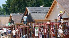 La construcción de viviendas en EE.UU. cae menos de lo esperado