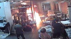 Detalles del ataque incendiario del 19 de noviembre de 2019 a Epoch Times Hong Kong