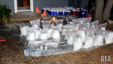 DEA publica nueva operación para detener distribución de metanfetamina en Estados Unidos
