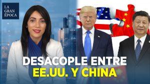 El desacoplamiento comercial de EE.UU. con China es evidente