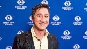 Empresario se encuentra con artistas de Shen Yun una semana antes de verlos en el escenario