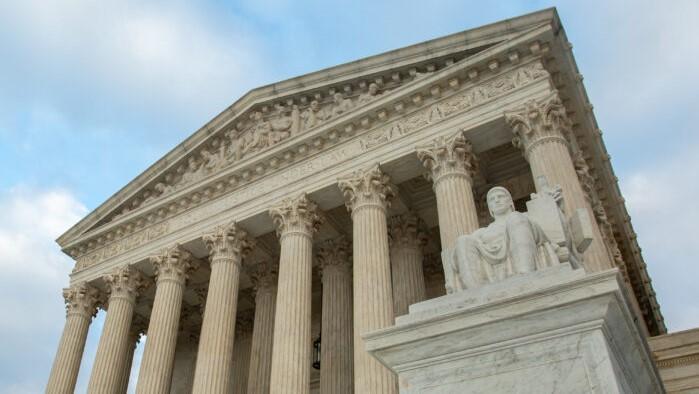 Corte Suprema de los Estados Unidos en Washington el 4 de diciembre de 2018. (Samira Bouaou/The Epoch Times)