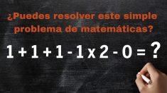 Desafío sin calculadora: ¿eres ágil para resolver este problema matemático en tu cabeza?