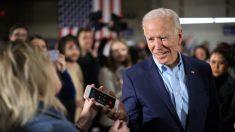 """""""Recibimos un puñetazo en el estómago en Iowa"""", dice Joe Biden"""