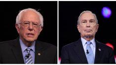 Sanders se niega a aceptar dinero de Bloomberg si se convierte en el candidato demócrata