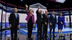 Demócratas regresan al tercer grado en el debate de Las Vegas