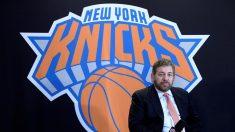 Dolan, dueño de los Knicks y Rangers, da positivo al virus del PCCh