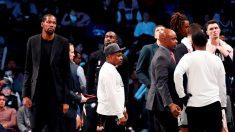 Estrella de la NBA, Kevin Durant, uno de los cuatro jugadores de Nets que dan positivo al COVID-19