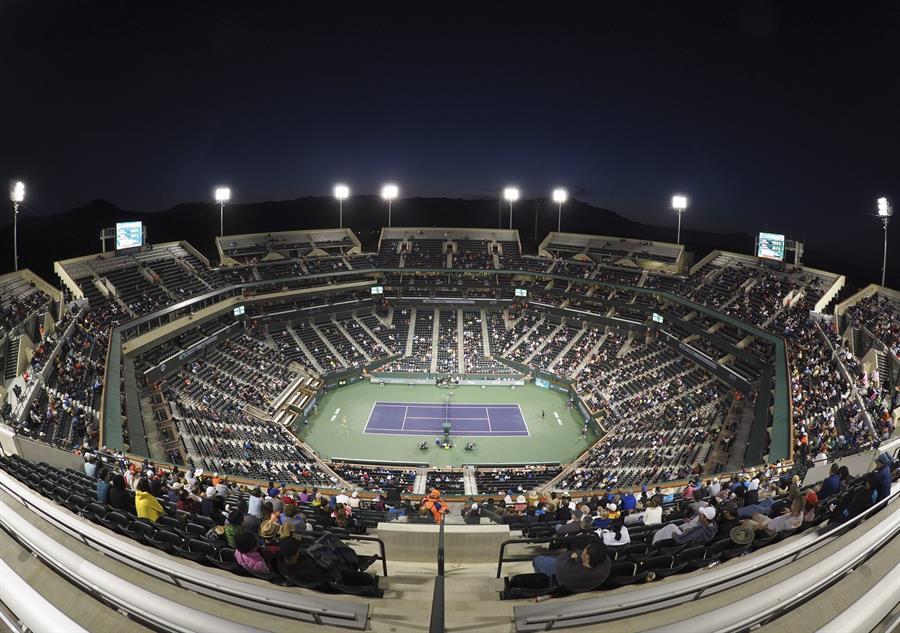 Suspenden el torneo de tenis Indian Wells por temor al contagio por coronavirus