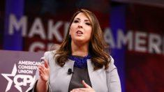 """Ronna McDaniel presidenta de Comité Nacional Republicano dio negativo en prueba del """"virus del PCCh"""""""