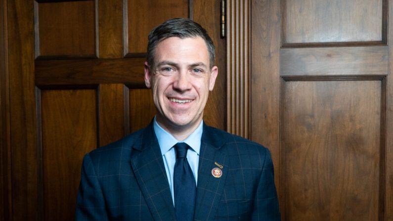 El representante Jim Banks (R-Ind.) en Capitol Hill el 27 de marzo de 2019. (York Du/NTD)
