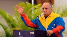 Diosdado Cabello, número dos del chavismo, tiene COVID-19