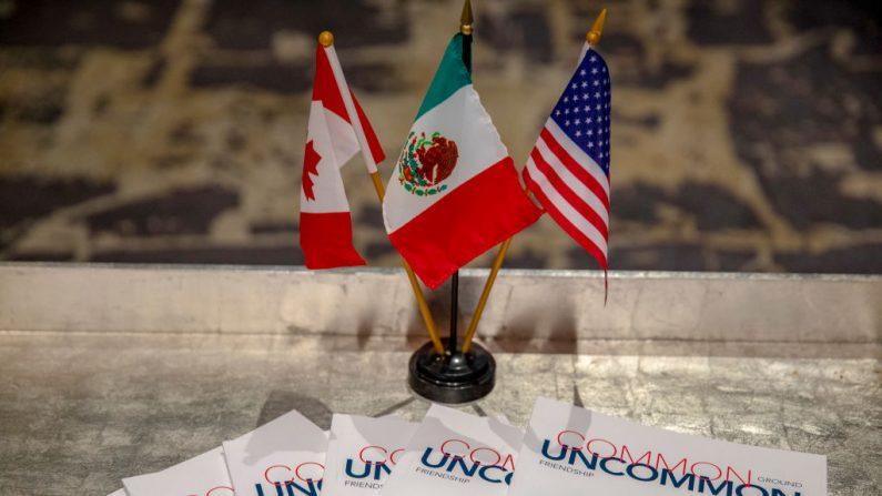 Vista general de las perspectivas del diálogo trilateral para la ratificación de la USMCA el 21 de febrero de 2019 en Washington, DC, EE.UU. (Tasos Katopodis/Getty Images para CABC)