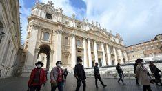 Se registra el primer caso de coronavirus en la Ciudad del Vaticano