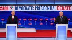 Biden y Sanders, cara a cara en el undécimo debate del ciclo electoral