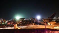 8 muertos después de que avión de Lion Air estallara en llamas mientras llevaba suministros médicos