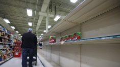 Las tiendas de comestibles luchan para mantenerse al día en medio del brote de coronavirus