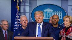 """Deja de comprar con pánico y """"relájate"""", dice el presidente Trump"""