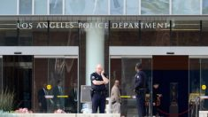 Un tercer agente de policía de LA da positivo por virus mientras número de muertes en LA aumenta a 4