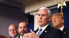 """La economía """"se recuperará"""" después que mercados digieran impactos del virus, dice Pence"""