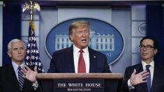 Cadenas cortan emisión de las ruedas de prensa de Trump sobre el virus a pesar de audiencia masiva
