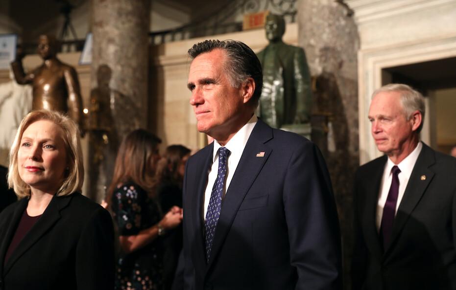 Partido Republicano del Condado de Utah censura al senador Mitt Romney