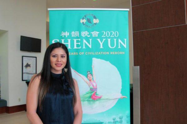 """Diseñadora de interiores anima a Shen Yun a seguir adelante: """"La generación más joven amará verlo"""""""