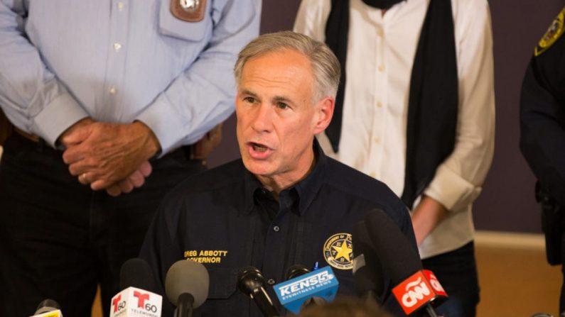 El gobernador de Texas Greg Abbott en una foto de archivo. (Suzanne Cordeiro/AFP/Getty Images)