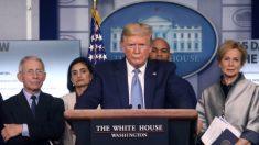 """Trump dice que China estuvo difundiendo """"información falsa"""" sobre el coronavirus"""