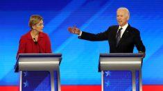 Joe Biden da un giro de 180 grados y apoya el plan de bancarrota de Elizabeth Warren