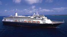 Crucero Holland America con 189 pasajeros enfermos se dirige al sur de Florida
