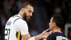 La NBA suspende temporada por coronavirus del jugador francés Rudy Gobert