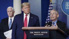 """Trump dice que Fauci """"cometió muchos errores"""" durante la pandemia"""
