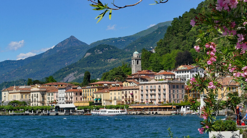 Vista del lago de Como en Italia. (Pixabay/travelspot)