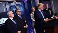 """""""Nuestro país no fue construido para ser clausurado"""", dice Trump a los estadounidenses"""