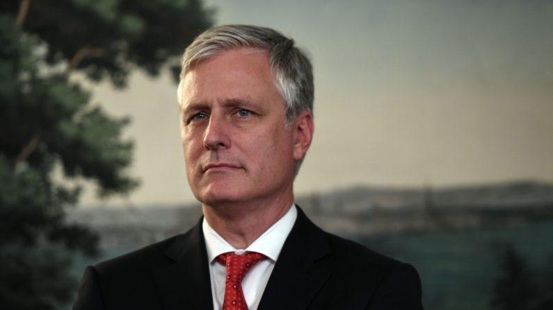El asesor de seguridad nacional Robert O'Brien en una fotografía de archivo. (Saul Loeb/AFP vía Getty Images)