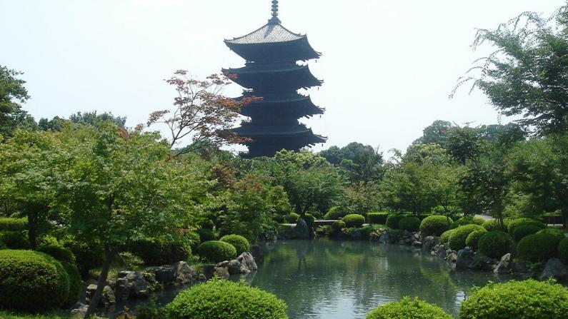 Pagoda Toji en Kyoto, Japón. (Simone Urbinati/CC BY-SA 3.0)