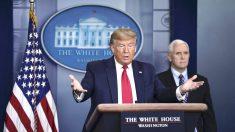 Trump dice que tiene dudas de los datos oficiales de China sobre el virus
