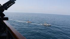 """Barcos iraníes realizaron maniobras """"peligrosas y hostiles"""" cerca de buques de la Marina de EE.UU."""