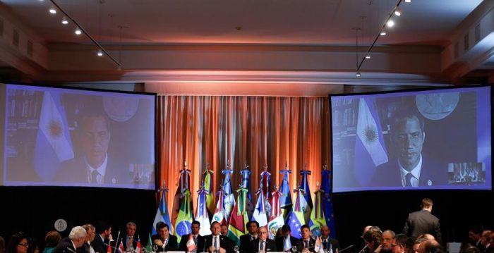 Grupo de Lima apoya formación de Gobierno de Emergencia Nacional en Venezuela
