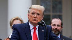 Trump sugiere reducir financiamiento a la OMS por su manejo de la pandemia