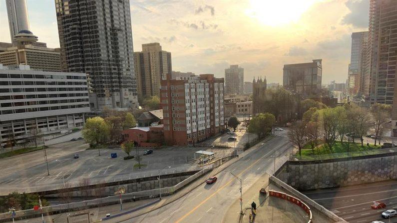 Panorámica de una zona este viernes de la ciudad de Atlanta, Georgia (EEUU). EFE/Marcelo Wheelock/Archivo