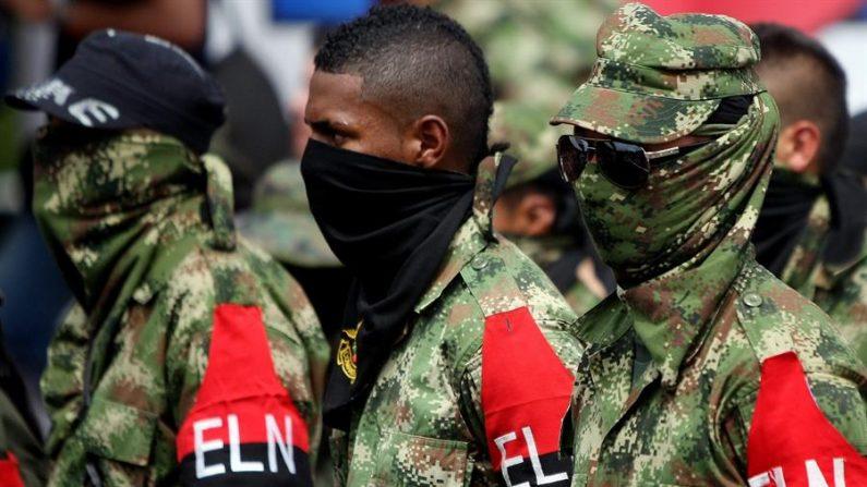 Imagen de miembros del Ejército de Liberación Nacional (ELN). EFE/Christian Escobar Mora/Archivo