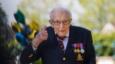 Un británico de 99 años recauda más de 12 millones de euros para la sanidad