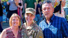 Primera mujer ranger de la Fuerza Aérea de EE.UU dice: 'No tengas miedo de tener éxito'