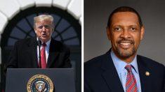 Legislador demócrata que respaldó a Trump ahora dice que no renunciará a su puesto
