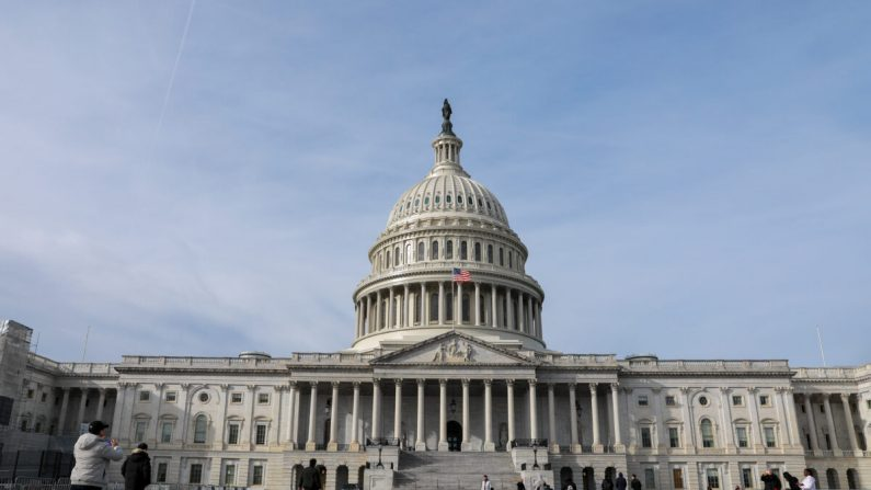 El Capitolio en Washington el 2 de enero de 2020. (Samira Bouaou/The Epoch Times)
