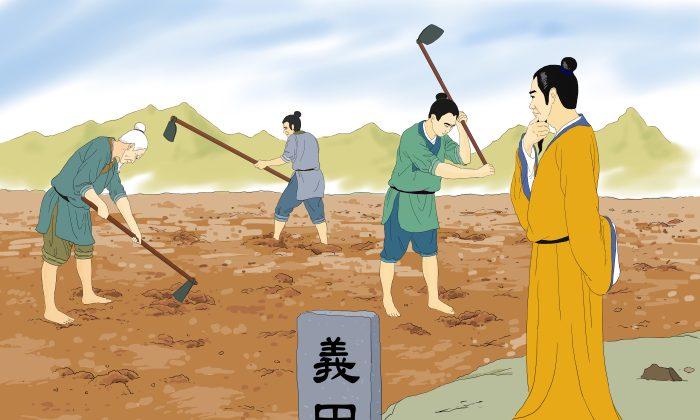 Figuras históricas: Fan Zhongyan procuraba por el destino de la nación antes que por la comodidad