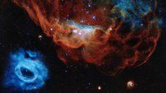 """Hubble celebra 30 años con la imagen de una espectacular """"arrecife cósmico"""""""